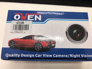 Owen Car Reverse Camera with Night Vision