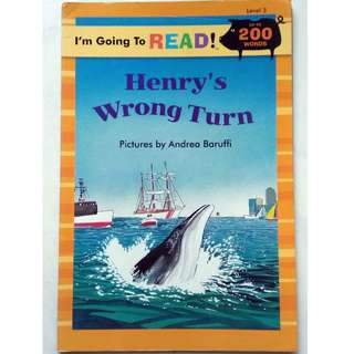 Preloved Reading Book - Henry's Wrong Turn