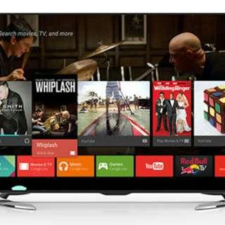 Tv led sharp 50ue630x UHD androit (drv3)