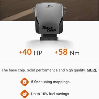 Racechip S piggyback for Volvo XC60 2.0T