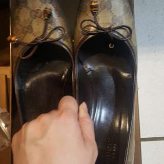 GUCCI女跟鞋40.5 日本26號