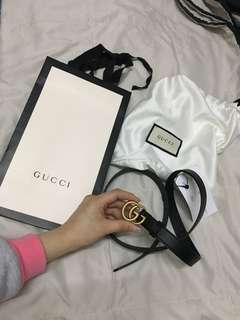 Gucci 潮款皮帶💕