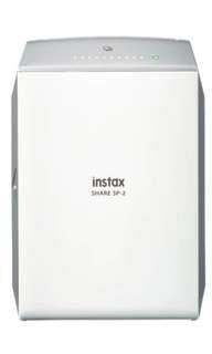 Instax share sp 2 photo printer