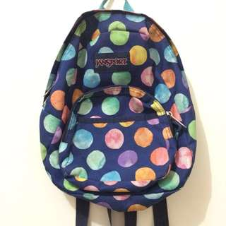 [REPRICE] JANSPORT COTTON CANDY MINI BACKPACK