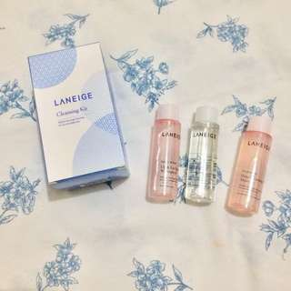 Authentic Laneige Cleansing Kit