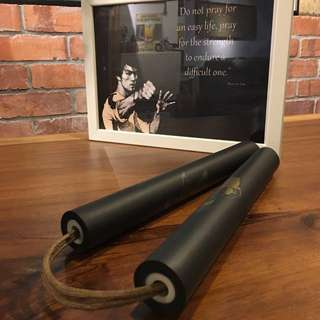 Foam Rubber Nunchaku for practice Bruce Lee Kungfu Martial Art