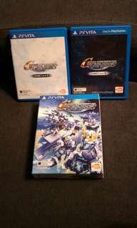Psvita SD Gundam G Generation Genesis Boxset (PS Vita)