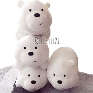 Bare Bears Plush Stuffed Toys