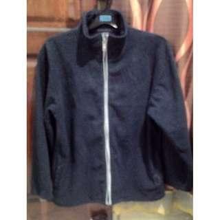 Jaket Calvin Klein Jeans Original Dark Blue bahan fleece