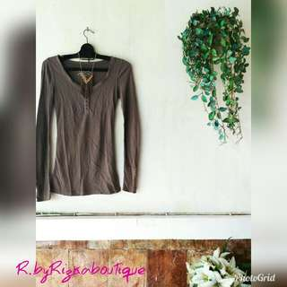 Army Top Blouse