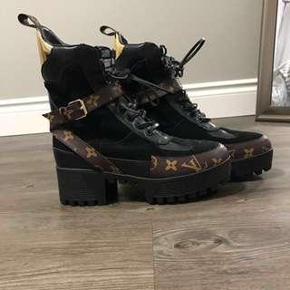 Louis Vuitton Laureate Desert Platform Boot