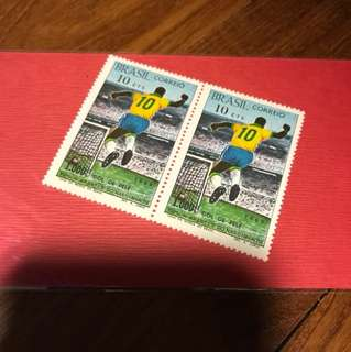 Pele limited edition stamp