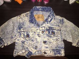 Levi's Maong Jacket Denim for Baby