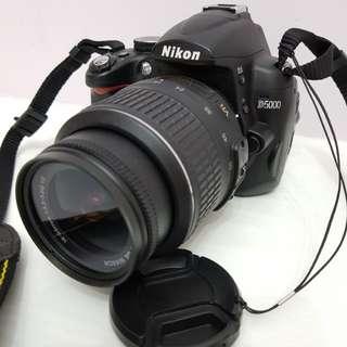 Nikon D5000 DSLR Camera 12.3MP