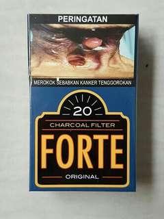 Rokok djarum forte original dan forte menthol