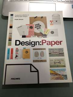 Design : Paper by Page One