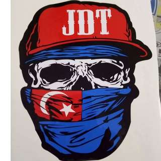 JDT  STICKER