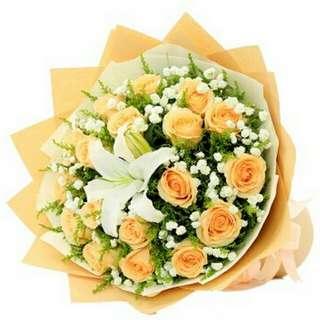 Flower Bouquet∕Hand Bouquet∕Birthday Bouquet∕Anniversary Bouquet∕Proposal Bouquet - 239E9