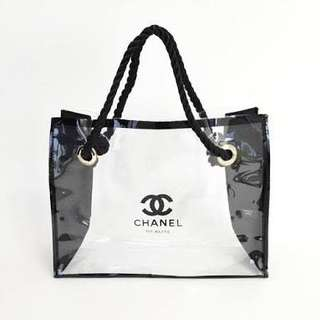 Chanel Clear Tote Bag VIP GIFT AUTHENTIC ‼️