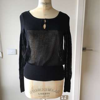 Tokito Sweater Size 10 - Black