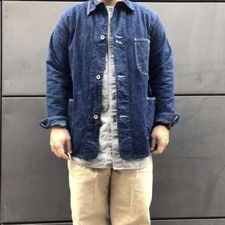 ORSLOW - 40S COVER ALL DENIM  JACKET