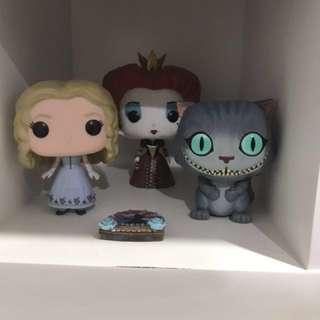 Pop Vinyls - 5 Alice in Wonderland pops