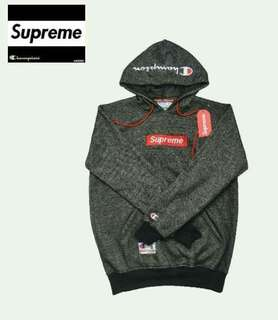 Hoodie Champion x Supreme