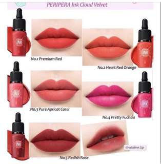 Korean best lip tint