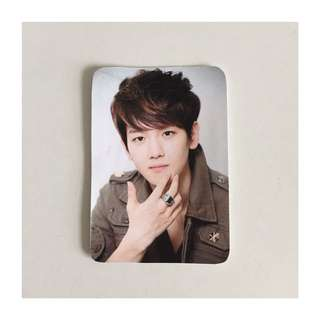 Baekhyun EXO Unoffical Fanmade Photocard