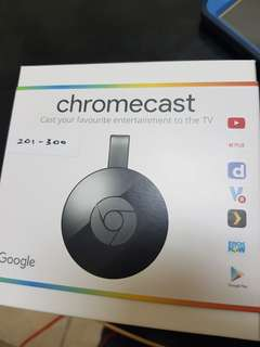 Chromecast 2 HDMI Media Streaming