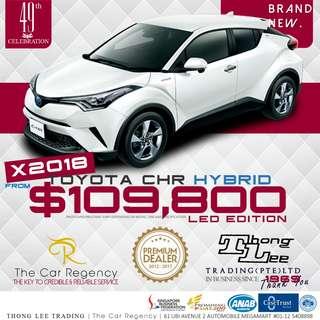 Toyota C-HR HYBRID ( NEW CARS )( SUV ) # CHR LED Vezel qashqai