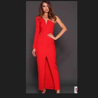 Nyla Red Dress