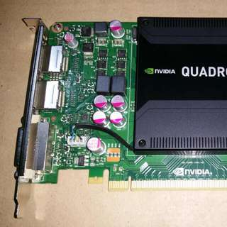 Nvidia Quadro K2000 2GB GDDR5 Professional Graphics