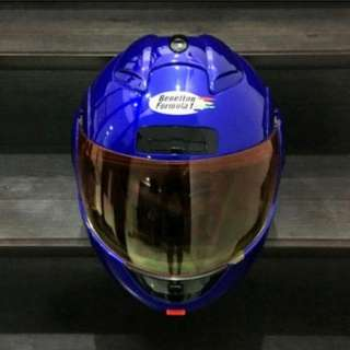 Benetton Formula 1 modular / flip up helmet