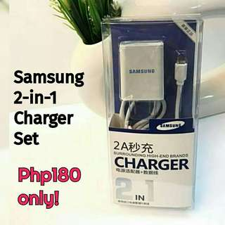 🌞 New! Samsung 2-in-1 Charger
