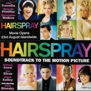 MY PRELOVED CD - OST THE HAIRSPRAY /FREE DELIVERY (F3F))