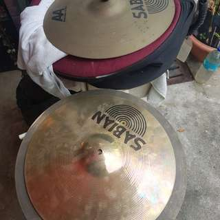 Highhat cymbals