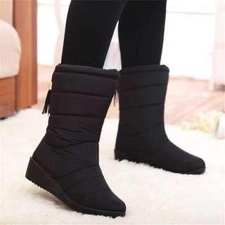 Boot snow