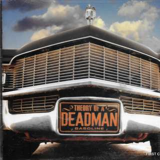 (F9H)MY PRELOVED CD - THE THEORY OF A DEADMAN - GASOLINE -//FREE DELIVERY (F9H)