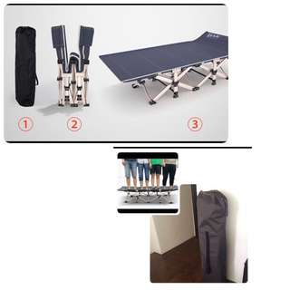 Premium light portable foldable bed