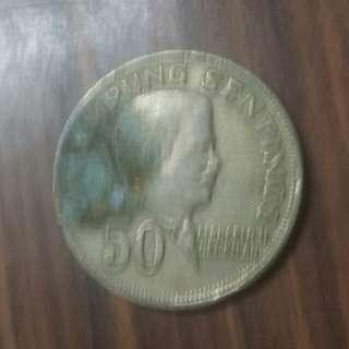 1967年菲律賓50分
