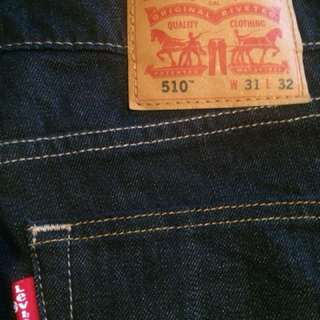 Mens Levi's 504 and 510 $25 each