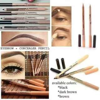 MENOW 2 IN 1 CONCEALER EYEBROW