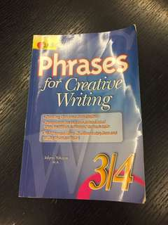 Creative Writing Book : Phrases for P3/4