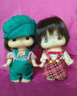 Original Old Vintage Made in Japan Dolls