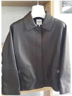 Hermes Leather Jacket Black
