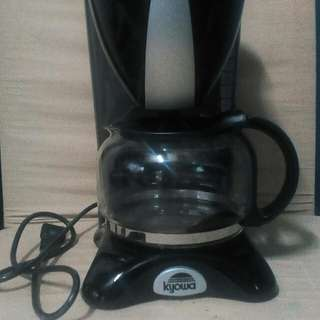 Coffee maker hindi pa nagamit