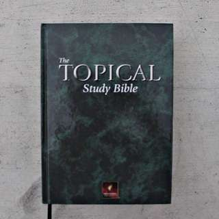 The Topical Study Bible