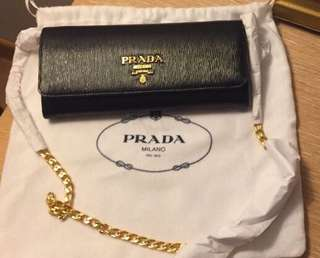 Prada Move Wallet on Chain Bag