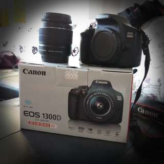 Canon 1300D or Rebel T6